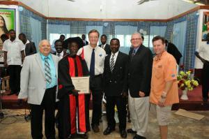 Pastor Sammy Lartey Honored