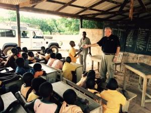 9.23 Roy Preaching in School